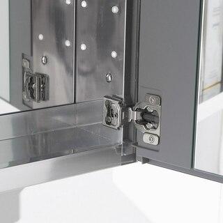 Fresca FMC8013 Bathroom Medicine Cabinet with Mirrors