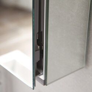 Fresca FMC8013 Bathroom Medicine Cabinet with Mirror