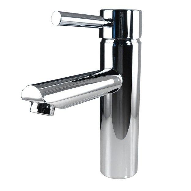 Fresca Fft1040ch Tartaro Single Hole Mount Bathroom Vanity Faucet Chrome Fresca Bathroom