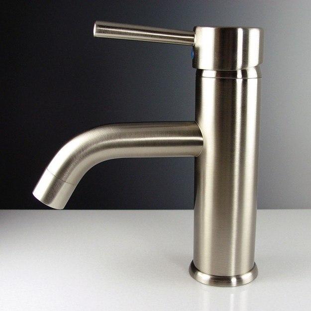 Fresca Fft1041bn Sillaro Single Hole Mount Bathroom Vanity Faucet Brushed Nickel Fresca