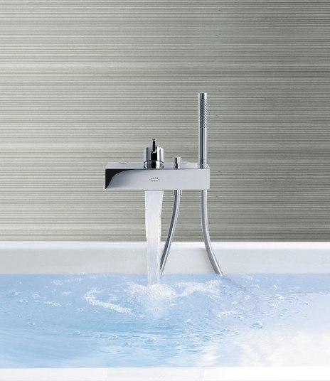 hansgrohe 10402001 axor starck x tub filler 10402 001. Black Bedroom Furniture Sets. Home Design Ideas