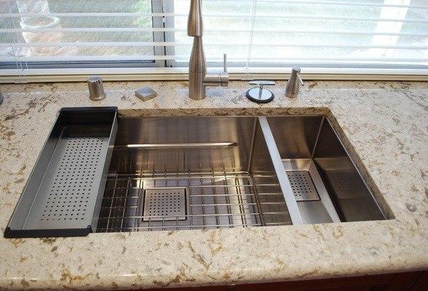 Franke Sink Cover : Franke PKX160 32 Inch Peak Series Undermount Double Bowl Sink: Right ...