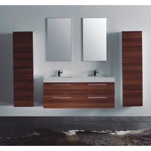 Lada Domino T40 Wall Hung Bathroom Storage Linen Cabinet Domino ...