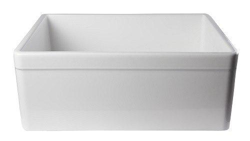 26 Farmhouse Sink : ... 26 Inch Single Bowl Fireclay Farmhouse Kitchen Sink AB506-W AB506-B