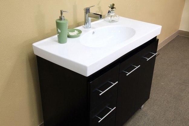Bellaterra Home 203129 B L 39 Inch Single Sink Vanity Wood