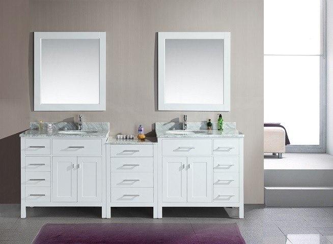 Design Element Dec076d W 92 London 92 Inch Double Sink