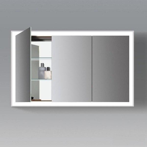 Duravit Lc755300000 L Cube 47 1 4 X 27 1 2 Inch Mirror
