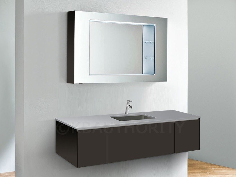 robern vf60pdclswm v14 60 inch vanity w center sink night light