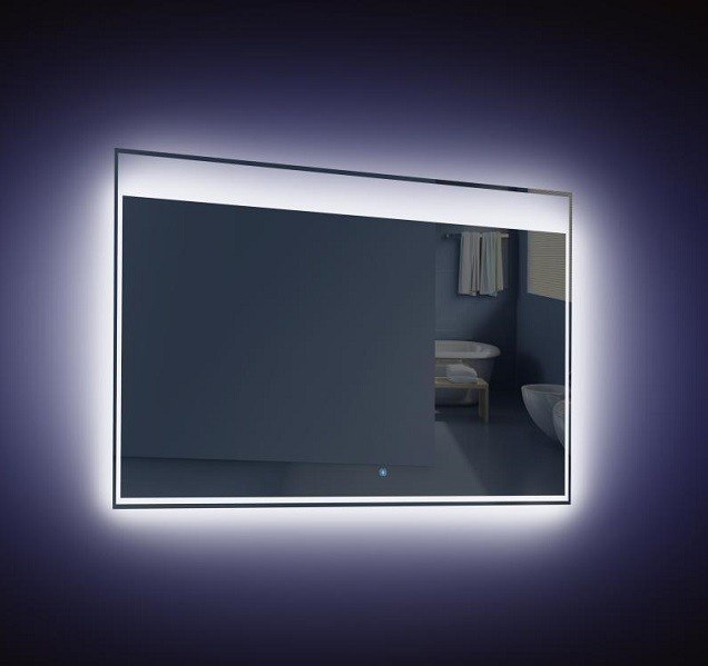 Beautiful Lighted Bathroom Vanity Make Up Mirror Led Lighted Wall Mounted