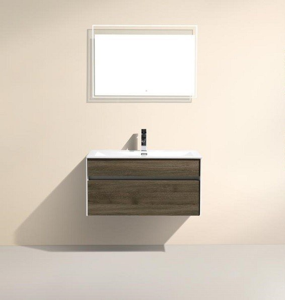Wall Mounted Bathroom Lights : Moreno Bath KR30LED Tona 30 Inch Wall Mounted Bathroom Mirror With LED Light