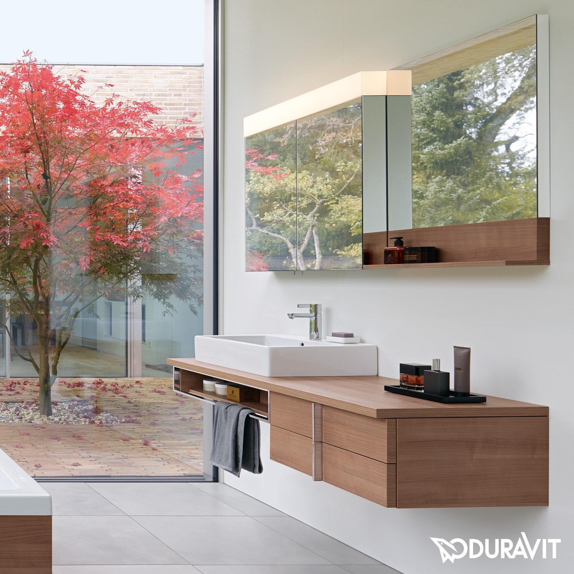 duravit ve750400000 vero 47 1 4 x 31 1 2 inch mirror cabinet. Black Bedroom Furniture Sets. Home Design Ideas