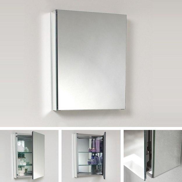 fmc8058 small 19 5 inch wide bathroom medicine cabinet w mirrors