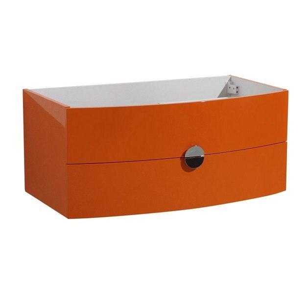 Fresca FCB5092OR Energia Orange Modern Bathroom Cabinet