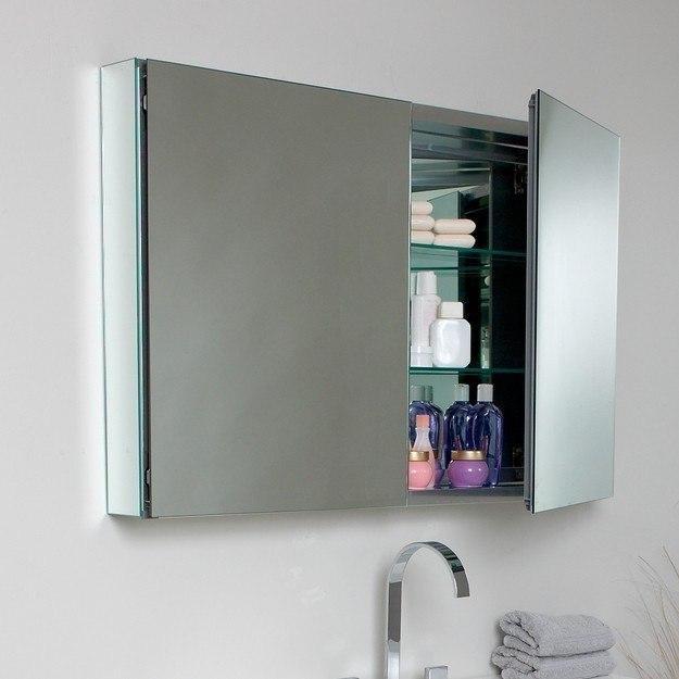 fresca fvn8010bw mezzo 39 inch black modern bathroom