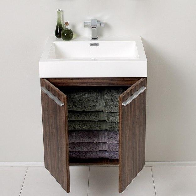 Fresca Fvn8058gw Alto 22 5 Inch Walnut Modern Bathroom