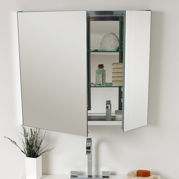 Fresca Fvn8090tk Vista Inch Teak Modern Bathroom Vanity W Medicine Cabinet Fresca Vanity