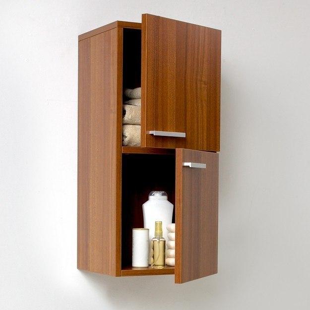side cabinet w 2 storage areas fresca bathroom linen side cabinet