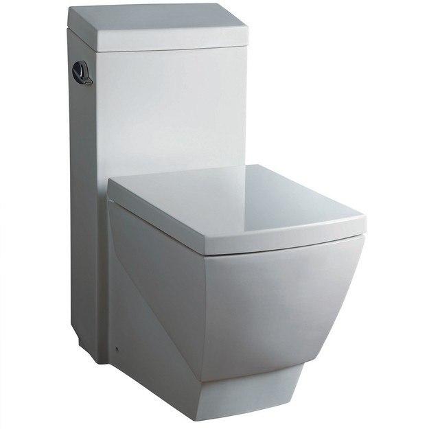 Fresca Ftl2336 Apus One Piece Square Toilet W Soft Close