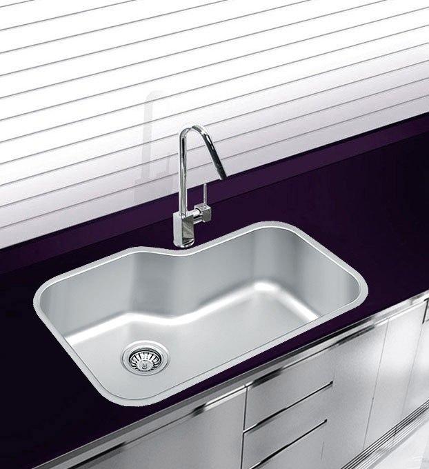 Ukinox DX760 30 Inch Undermount Single Bowl Sink