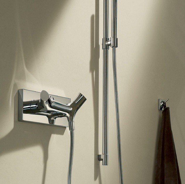 hansgrohe 12602001 axor starck organic thermostatic shower. Black Bedroom Furniture Sets. Home Design Ideas