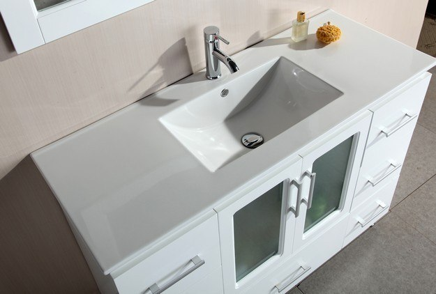Design Element B48 Ds W Stanton 48 Inch Single Sink Vanity
