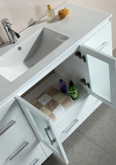 Design Element B48 Ds W Stanton 48 Inch Single Sink Vanity