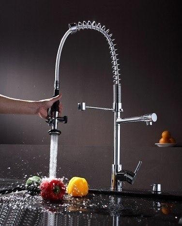 Kraus Brand Review : Kraus KPF-1602 Single Lever Pull Out Kitchen Faucet KPF-1602 KPF1602 ...