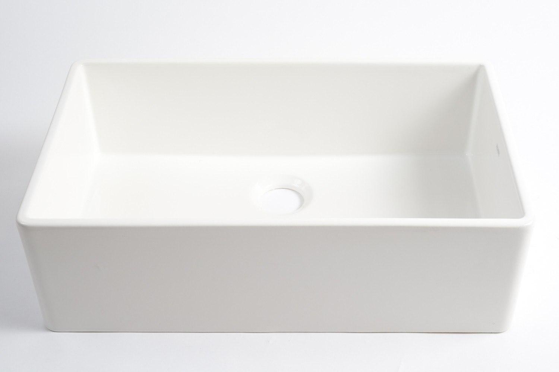 33 Farmhouse Sink White Single Bowl : 33 Farmhouse Sink White Single Bowl Farmhouse Sink