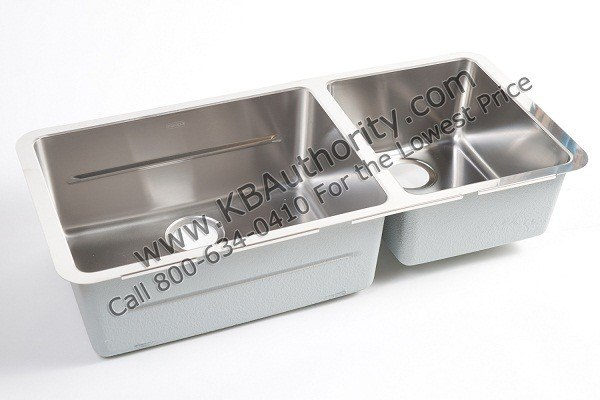 ... KBX120-34 34 Inch Kubus Undermount Double Bowl Stainless Steel ...