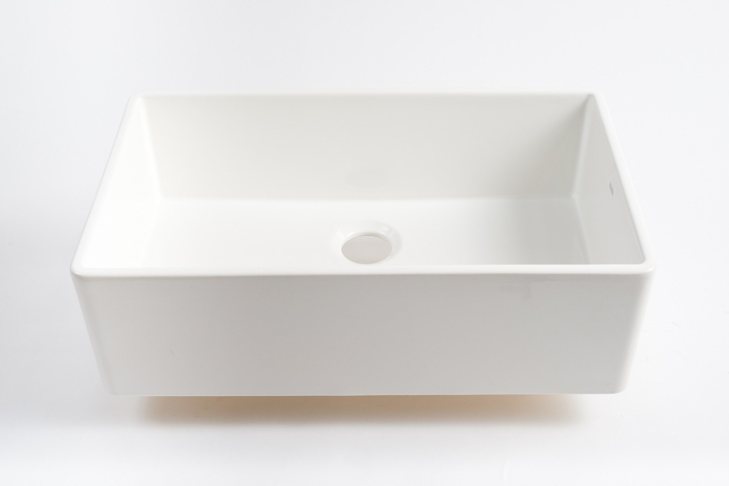 Farmhouse Sink 33 Inch White : ... FHK710-33 Farm House 33 Inch Apron Front Single Bowl Fireclay Sink