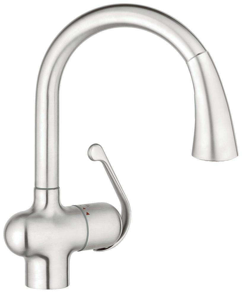 Grohe 33755sd1 Ladylux Cafe Single Handle Kitchen Faucet