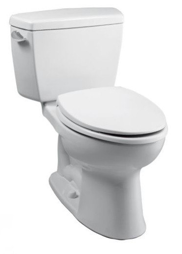 Toto CST744SLD Drake 1.6 GPF Two Piece Elongated Toilet with Insulated Tank
