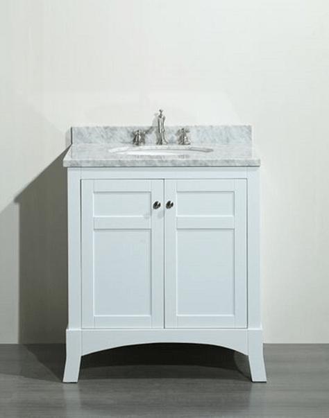 eviva evvn514 30wh new york 30 inch white bathroom vanity