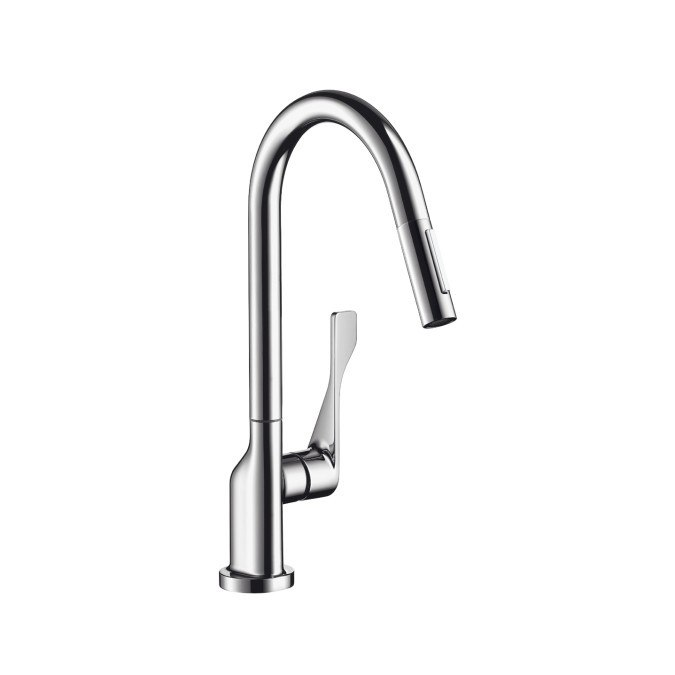 Hansgrohe 39836 Axor Citterio Prep Pull-Down Kitchen Faucet