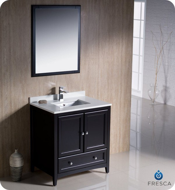 Original  Bathroom Vanities  24 Oxford Espresso Traditional Bathroom Vanity