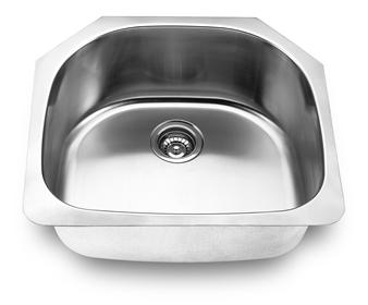 Yosemite Home Décor MAG2421 23 Inch Undermount Kitchen Sink