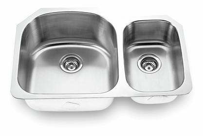 Yosemite Home Décor MAG3121L 31 Inch Undermount Double Bowl Kitchen Sink
