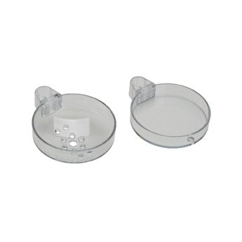 Hansgrohe 28675000 Double Soap Dish For Unica S Wallbar