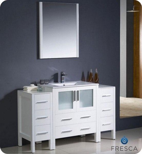 fresca fvn62 123012wh uns torino 54 inch white modern