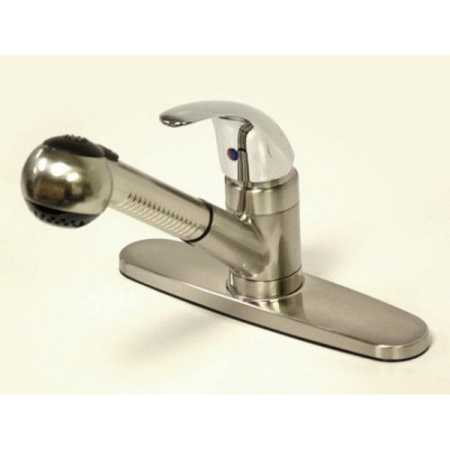 Kingston Brass KB670LL Legacy Pull-Out Kitchen Faucet
