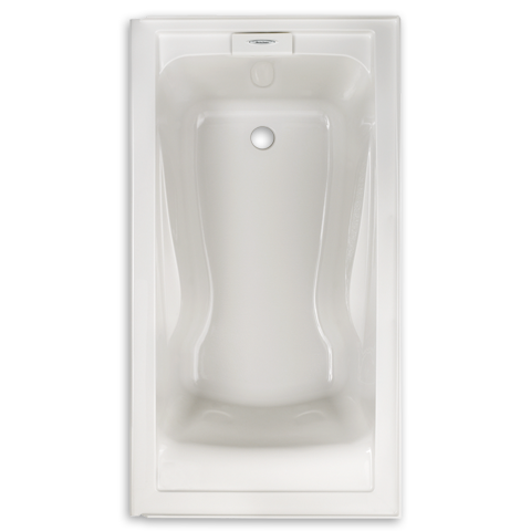 American standard evolution 60 x 32 inch acrylic for Deep soaking tub alcove