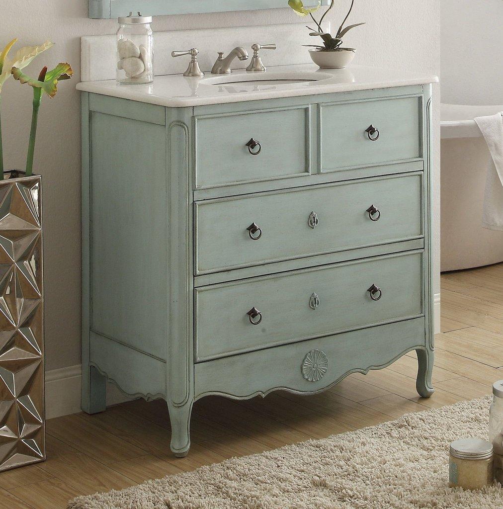 chans furniture hf081lb daleville 34 inch distressed blue