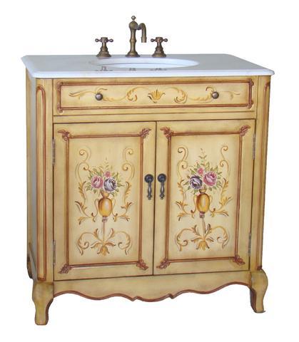 Chans Furniture HF2263 Camarin 32 Inch Soft Beige Hand