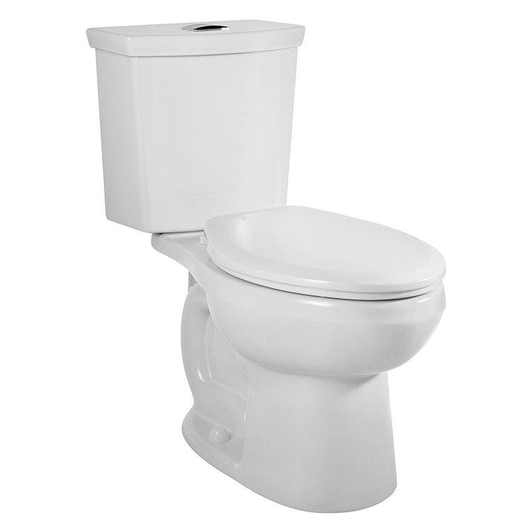 American Standard H2Option Dual Flush Elongated GPF Toilet