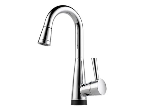 Brizo 64970LF Venuto Single Handle Pull-Down Bar/Prep Faucet w/ SmartTouch Technology