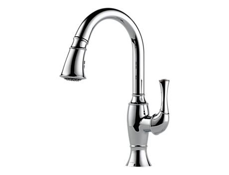 Brizo 63003LF Talo Single Handle Pull-Down Kitchen Faucet