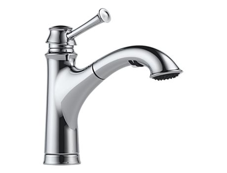 Brizo 63005LF Baliza Single Handle Pull Out Kitchen Faucet