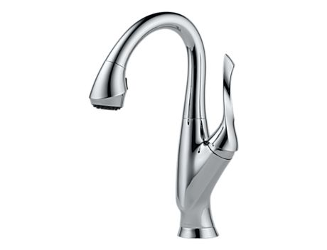Brizo 63952LF Belo Single Handle Pull-Down Bar/Prep Faucet