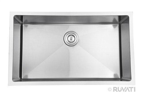 Ruvati RVH7300 30 Inch Undermount Stainless Steel Kitchen