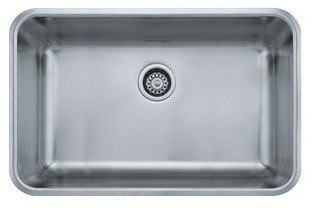 Franke GDX11028 Grande Series 28 Inch Undermount Kitchen Sink